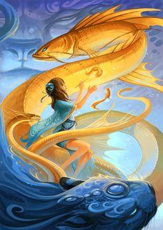 creaturesfromdreams:  Featured Artist #8: Sandara Tang