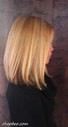 When it feels like trying longer hair. In today's post I want tot share with you modern LOB (long bob) haircuts for ladies that you can try this 2015 year.