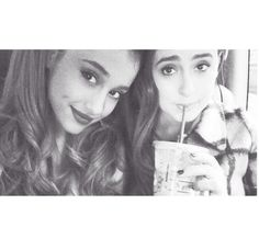 Ariana and friend