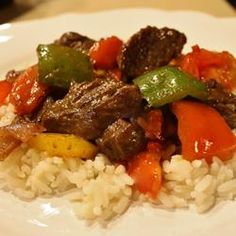 Chinese Pepper Steak - Allrecipes.com