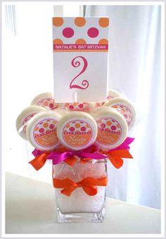 Mitzvah candy theme ideas http://www.bmmagazine.com/home/mitzvah-store/kosher-candies/bar-mitzvah-candy/bar-mitzvah-candy-store - Lollipops