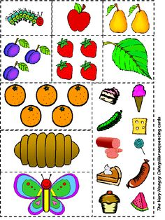 A lagartinha muito comilona - sequenciar a história  4shared - very hungry caterpillar sequencing - shared folder - free file sharing and storage