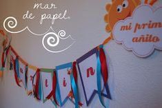 MAR DE PAPEL: El primer cumple de Martín: BabyTV 1, Party, Ideas, Baby Girl First Birthday, Paper Envelopes, Crafts, Parties, Fiesta Party, Direct Sales Party