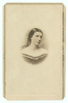CDV, Mrs. (Rose ONeal) Greenhow, the Secessionist. Duke University Special Collections.
