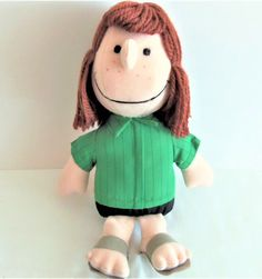 Vintage 1966 Peppermint Patty Doll of Peanuts Gang Sitting | Etsy