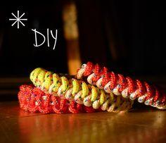 DIY cord bracelets