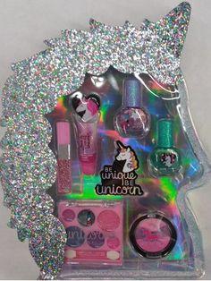 Unicorn Kids, Cute Unicorn, Unicorn Birthday Parties, Birthday Party Decorations, Justice Makeup, Makeup Kit For Kids, Unicorn Fashion, Unicorn Necklace, Unicorn Makeup