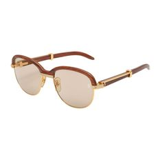 7395db047bc35 Vintage Cartier Giverny Palisander Sunglasses For Sale at