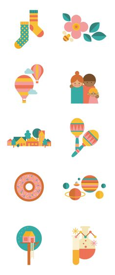 Airbnb - Create Airbnb icons - Anna Dunn