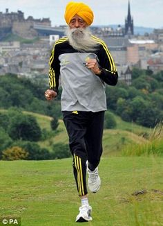World's oldest marathon runner  - 100 years old. Ran his first marathon aged 89. Seriously. What's your excuse?