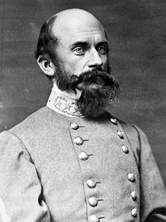 Lieut Gen Richard Stoddert 'Baldy' Ewell (8.2.1817|25.1.1872) USMA 1837 13/42. Mexican-American War. 1st field officer wounded Battle of Fairfax Court Hse (6/1861) Succeeded Stonewall Jackson, commander, 2nd Corps AoNV. Lost left leg Second Manassas (Groveton). Commanded corps from Gettysburg - Spotsylvania. Hesitated to attack Culp's Hill & Cemetery Hill 1st day at Gettysburg. Wounded 8x. His legacy has been clouded by controversies over his actions at Gettysburg & Spotsylvania Court House.