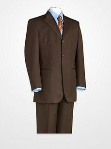Zandello ~ Brown Check Suit