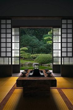 "thekimonogallery: "" Japanese room, Washitsu 和室 """