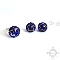 #swarovskiearrings #swarovskiset #romanticearrings #bluejewelry #blueswarovski #swarovskijewelry #crystaljewelry #bridesmaidgift #rhinestoneearrings #bridalearings #bluebridal #blueearrings #sparklingjewelry #bluewedding #bluestuds #somethingblue #silverandblue #starearrings #starjewelry #cobaltearrings #cobaltjewelry #majesticblue #roundearrings #roundring #starring #rosettejewelry #mandalaearrings #swarovskistuds #everydayjewelry #smallpostearrings #smallearringstuds