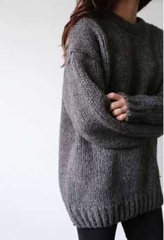 25 Chunky Sweater Outfits For The Holidays - Kleidung - Sweaters