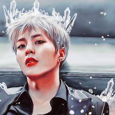 Xiumin fanart EXO #icecommander