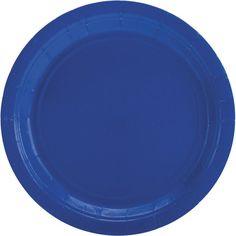"big party pack paper dinner plates 9"" 60/pkg-brigh"