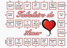 """Oi Gente,  A leitora Milena Nunes Nos enviou um Jogo""""tabuleiro do Amor"""", achei bem legal e vou colocar aqui.   tabuleiro da Milena       ta..."""