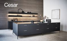 Kitchen by Cesar. Not normally a fan of ultra mod kitchens but could certainly fall for this one