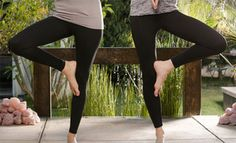 Groupon - $ 28.99 for Two Pairs of Women's InTouch Yoga Leggings in S/M or L/XL ($ 119.90 List Price). Free Shipping and Returns. in Online Deal. Groupon deal price: $28.99