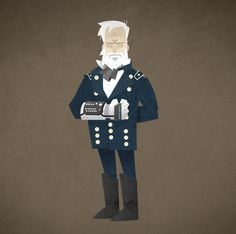 William Sherman and the Power Glove by Mads Frantzen, via Behance