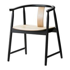 TRENDIG 2013 Sedia a braccioli IKEA Questa sedia è molto comoda grazie ai braccioli e allo schienale arrotondato.