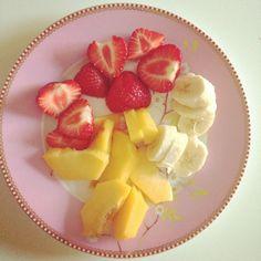 Simpel zomerfruit als goede start van de dag!