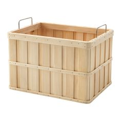 "IKEA - BRANKIS, Basket, 14 ¼x10 ¾x9 "", , Storing your belongings in baskets makes it easier to be organized and find what you're looking for.Easy to pull out and lift as the basket has handles."