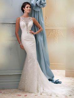 traje de novia: largo y perfecto