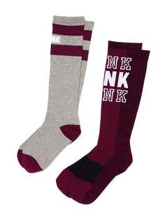 a78fdb6ec Shop All Accessories - PINK. Pink Knee High SocksKnee ...