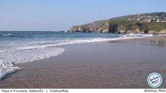 playa a frouxeira, valdovino, galicia