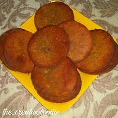 Gharge (sweet pumpkin puris) is a traditional Maharashtrian recipe made of Pumpkin. This recipe is easy to make and it tastes delicious. The Science Of Cooking, Maharashtrian Recipes, Puri Recipes, Evening Snacks, Whole Wheat Flour, Cooking Recipes, Peach, Pumpkin, Dishes