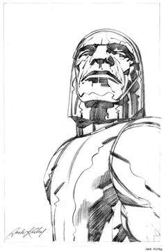 Darkseid by Jack Kirby