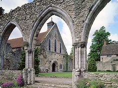 England Beaulieu Abbey,  was a Cistercian abbey located in Hampshire, England. It was founded in 1203–1204 by King John and peopled by 30 monks sent from the abbey of Cîteaux in France