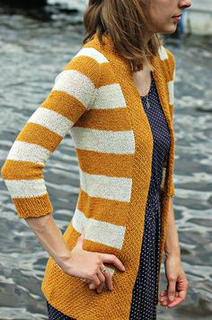 Wonderful and very feminine casual cardigan. I love how this one goes together with dresses.