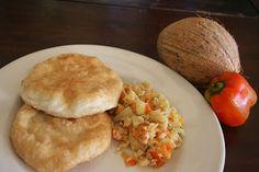 Dodgy Dock Restaurant & Bar: Dodgy Dock Cooking Session - Caribbean Salt Fish Souse & Bakes
