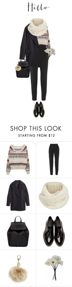 """""""174  ♡"""" by cutefatboy ❤ liked on Polyvore featuring Proenza Schouler, H&M, Century Seven, Mansur Gavriel, Burberry and Gerber"""