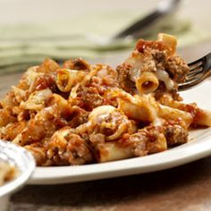 Prego(R) Now and Later Baked Ziti Recipe - @Allrecipes.com - Dinner for tonight and another dish to freeze for later!