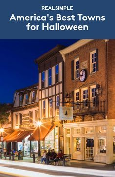 America's Best Towns for Halloween | There are many, many towns that boast some amazing Halloween festivities, including pub crawls, pumpkin beer on tap, and late-night shows. Others take a more low-key, kid-friendly approach, hosting costume competitions for pets or autumn festivals with corn mazes and apple-wine tastings. Read on for the best places to celebrate, from Colorado to Tennessee.