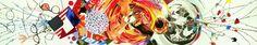 Obra: Celebrating the Fiftieth Anniversary of the Signing of the Universal Declaration of Human Rights by Eleanor Roosevelt. (Celebrando los 50´ aniversarios de la firma de la declaración universal de los derechos humanos por Eleanor Roosevelt) Fecha: 1998. Técnica: óleo en lino belga Medidas: 7.3 x 40.5 metros PIntado en: Aripeka, FL