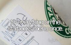 Starbucks! (: