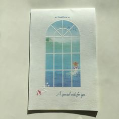 BEAUTIFUL! Sanrio Vintage New Stock Stationary Floral Poem, A special wish for you ©1976, 1983 Sanrio Co.LTD
