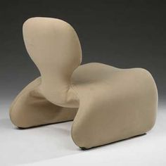 Olivier Mourgue; 'Djiin' Lounge Chair for Airborne, 1965.
