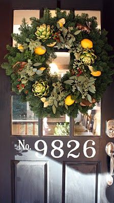 My Sweet Savannah: ~Christmas decorating at the lake~ best wreath ever!