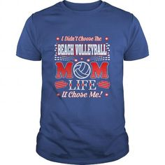 Didnt Choose Beach Volleyball Mom Life It Chose Me Please tag, repin & share with your friends who would love it. #hoodie #ideas #image #photo #shirt #tshirt #sweatshirt #tee #gift #perfectgift #birthday #Christmas #mom #motherday #volleyball #volleyballmom