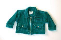 Vintage baby corduroy jacket