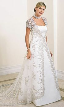 full figured wedding dresses with sleeves - Google Search
