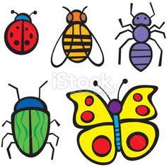 Cartoon Bugs Royalty Free Stock Vector Art Illustration
