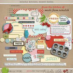 The Lilypad :: ELEMENT PACKS :: Kitschy Kitchen Add-On Bundle