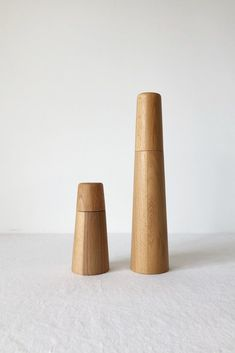 BEECH WOOD SALT AND PEPPER GRINDER MILL – Imprint House Salt And Pepper Mills, Salt And Pepper Grinders, Kitchen Elevation, Wood Mill, Linseed Oil, Wood Design, Wood Turning, Cleaning Wipes, Ceramics
